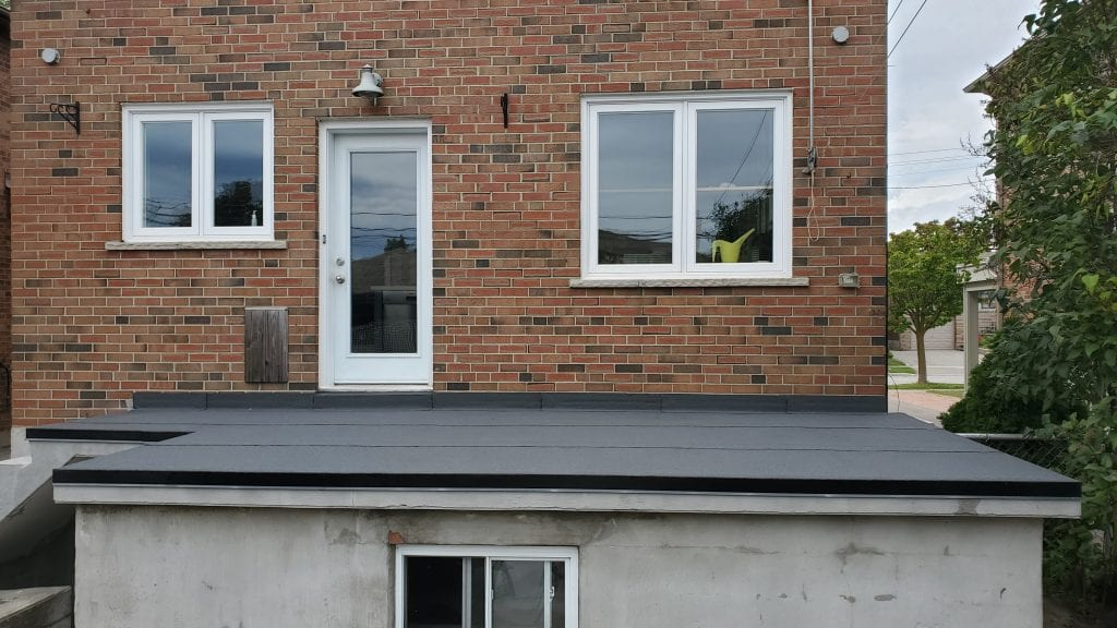 'Flat roof life expectancy
